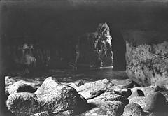 Travel photo, circa 1902. (SDNHM-Library) Tags: lajolla caves lajollacave negatives photoalbums california sdnhm