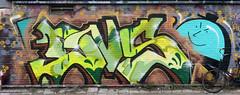 Graffiti in Amsterdam (wojofoto) Tags: amsterdam nederland netherland holland ndsm legalwall graffiti streetart wojofoto wolfgangjosten dvs
