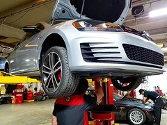 Angelo performing a Haldex sport differential service and brake flush on a 2017 Volkswagen GTI Autobahn using Motul 5.1 brake and OE Haldex fluid.Only at German Autohaus of Chattanooga!#GermanAutohaus #Chattanooga #Tennessee #ScenicCity #Motul #MotulUSA # (German Autohaus) Tags: chattanooga german autohaus volkswagen vw haldex brake service gti flush motul motulusa maintenance tennessee european euro car automobile repair shop mechanic