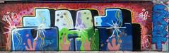 Graffiti in Amsterdam (wojofoto) Tags: amsterdam nederland netherland holland ndsm legalwall graffiti streetart wojofoto wolfgangjosten 2h2
