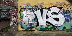 Graffiti in Amsterdam (wojofoto) Tags: amsterdam nederland netherland holland ndsm legalwall graffiti streetart wojofoto wolfgangjosten vs