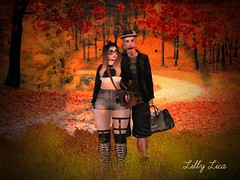 {RP} FR0025 (lilicat73lica) Tags: secondlife sl avatar virtualworlds friends nature fashion outfit