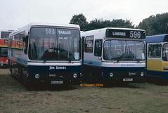 The Dynamic Duo (SelmerOrSelnec) Tags: stones jimstones leigh a499mhg bus1t b500mpy manchester heatonpark translancs bus rally leylanddab tigercub dab ecw