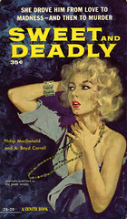 Zenith Books ZB-29 - Philip MacDonald & A. Boyd Correll - Sweet and Deadly (swallace99) Tags: zenith vintage 50s thriller paperback tedcoconis
