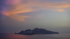 Sunset over Capri (jrunions1) Tags: italy capri sorrento sea sunset color colour sunrise