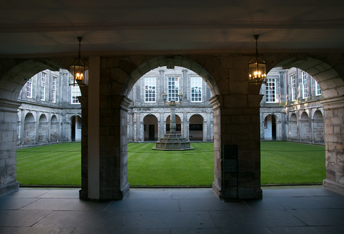 Palace of Holyrood - Inner Courtyard  2