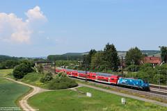 DB 146 246 - Retzbach-Zellingen (D) 29-05-2017. (Reizigerstreinen & trams) Tags: br146 146 246 db deutsche bahn dosto regional express re retzbach zellingen maintal bayern germany deutschland duitsland