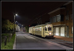 ASVi 9148 + 9309 - Rue des Déportés (Spoorpunt.nl) Tags: asvi sncv 9148 type s sm bijwagen 9309 17 november 2019 anderlues rue des déportés