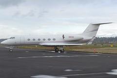 N903G (LAXSPOTTER97) Tags: n903g gulfstream aerospace g450 cn 4183 owensillinois inc airport airplane aviation kpdx