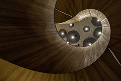 Citizen M 2 (mg photography2) Tags: citizenm hotel shoreditch london england uk canon stair stairs stairwell staircase spiral abstract architecture architectural interior building urban city explore lobby design