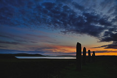 Dark island (images@twiston) Tags: sunset ringofbrodgar brodgar dark island neolithic henge stonecircle loch bluehour stenness orkney silhouette scotland standing stones megalith prehistoric stoneage atmospheric landscape imagestwiston highlands islands farnorth brogar sky cloud clouds unesco worldheritagesite nisi nisifilters gnd neutraldensity reversegrad grad