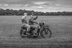 Hello guys!! (mostodol) Tags: fertéalais meeting aerien motorcycle noiretblanc blackandwhite france french fuji fujifilm xt20 essonne