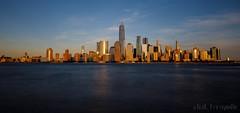 NYC Skyline from New Jersey (benno.dierauer) Tags: newyork newyorkcity nyc skyline skyscraper hochhäuser architecture architektur pano panorama canoneosr tamronsp1530mmf28divcusd nd haidaneutraldensityndfilters longexposure usa amerika golden langzeitbelichtung