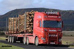 TRANSPOWER SCANIA NEXT GENERATION R500 D14 TPS (Darren (Denzil) Green) Tags: transpower transpowerscania transpowertimbertransport kelsalightbar d14tps scaniar500 scaniatrucks fullairsuspension r500 scanianextgeneration transport trailer timber timbertrailer robertsontimbertrailer dufftown