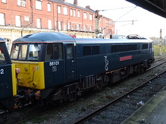 Locomotive Services Limited 86101 at Crewe (Rorymacve Part II) Tags: emu diesel express multipleunit rail train electriclocomotive passenger shunter trains dmu branch diesellocomotive class engine mainline railways steamlocomotive locomotive freight railway track