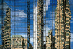 The photographer's cubism (waldo.posth) Tags: sony a7rm2 minolta af f20 100mm boston facade reflection