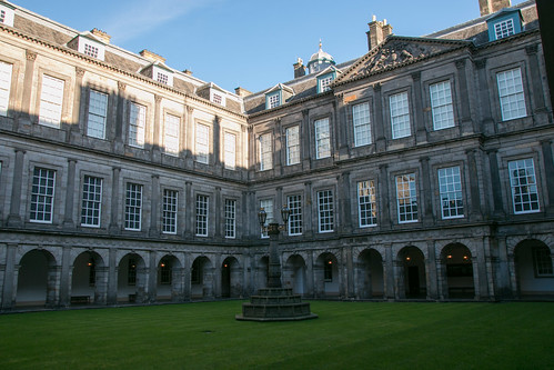 Palace of Holyrood - Inner Courtyard  6