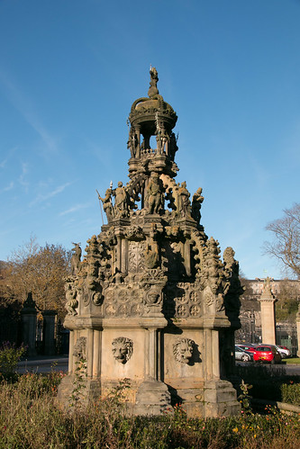 Palace of Holyrood - Forecourt Fountain  6