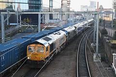 "GB Railfreight Class 66/7, 66724 ""Drax Power Station"" & British Railways Green Class 37/5, D6851 (37190 ""Dalzell"") Tags: gbrf gbrailfreight blueorange infracapital mgprudential br britishrailways green ee englishelectric type3 growler tractor class37 class375 gm generalmotors shed bluebird class66 class667 mk3 lhcs locomotivehauledcoachingstock sleepercoaches d6851 37667 37151 66724 draxpowerstation 10529 10565 10714 10719 lsl locomotiveserviceslimited failedtrain victoria manchester"