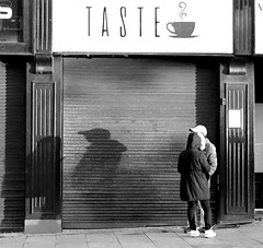 Shadow couple in Preston (Tony Worrall) Tags: preston lancs lancashire city welovethenorth nw northwest north update place location uk england visit area attraction open stream tour photohour photooftheday pics country item greatbritain britain english british gb capture buy stock sell sale outside dailyphoto outdoors caught photo shoot shot picture captured ilobsterit instragram photosofpreston street streetphotography urban candid people person picturesinthestreet photosofthestreet couple taste corporationstreet sign sunlit outline