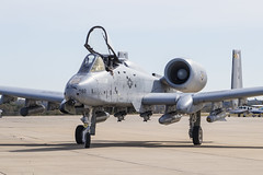 _MG_5832 (DustinScriven) Tags: a10 warthog airport avgeek aviation aviationgeek airforce usaf usa america united states merica brrrt cas air support plane jet airplane