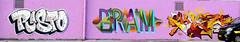 Graffiti in Amsterdam (wojofoto) Tags: amsterdam nederland netherland holland ndsm legalwall graffiti streetart wojofoto wolfgangjosten eklor risto bram evolve