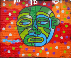 Graffiti in Amsterdam (wojofoto) Tags: amsterdam nederland netherland holland ndsm legalwall graffiti streetart wojofoto wolfgangjosten ottograph