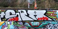 Graffiti in Amsterdam (wojofoto) Tags: amsterdam nederland netherland holland ndsm legalwall graffiti streetart wojofoto wolfgangjosten spa