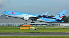 G-OBYH (AnDyMHoLdEn) Tags: thomson tui 767 egcc airport manchester manchesterairport 23r