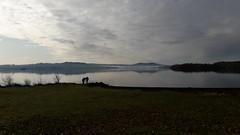 Loch Lomond (conall..) Tags: alanholly silhouette loch lomond waterfront balmaha lochlomond lochlomondwaterfront mist hills water landscape