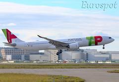 F-WWCC Airbus A330 Neo Air Portugal (@Eurospot) Tags: fwwcc cstur airbus a330 neo a330900 1943 airportugal toulouse blagnac