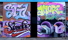 Graffiti in Amsterdam (wojofoto) Tags: amsterdam nederland netherland holland ndsm legalwall graffiti streetart wojofoto wolfgangjosten stiler stil amore