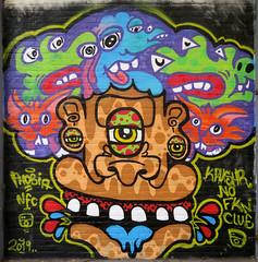 Graffiti in Amsterdam (wojofoto) Tags: amsterdam nederland netherland holland ndsm legalwall graffiti streetart wojofoto wolfgangjosten krusher