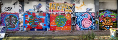 Graffiti in Amsterdam (wojofoto) Tags: amsterdam nederland netherland holland ndsm legalwall graffiti streetart wojofoto wolfgangjosten ottograph hert phobia