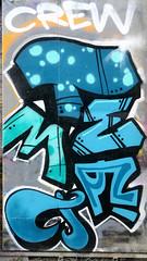 Graffiti in Amsterdam (wojofoto) Tags: amsterdam nederland netherland holland ndsm legalwall graffiti streetart wojofoto wolfgangjosten throw throwup throwups throws