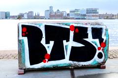Graffiti in Amsterdam (wojofoto) Tags: amsterdam nederland netherland holland ndsm legalwall graffiti streetart wojofoto wolfgangjosten bts throw throwup throwups throws