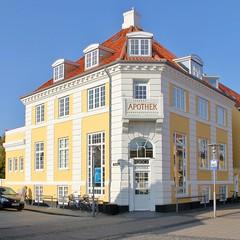 Skagen Pharmacy (hansn (5+ Million Views)) Tags: skagen architecture arkitektur yellow gul gult house hus denmark danmark architect arkitekt thorvald jørgensen jorgensen