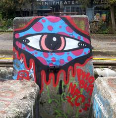 Graffiti in Amsterdam (wojofoto) Tags: amsterdam nederland netherland holland ndsm legalwall graffiti streetart wojofoto wolfgangjosten phobia