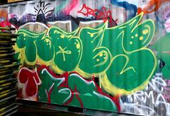 Graffiti in Amsterdam (wojofoto) Tags: amsterdam nederland netherland holland ndsm legalwall graffiti streetart wojofoto wolfgangjosten