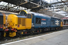 Photo of DRS Class 37/4 37409 'Lord Hinton' - Crewe