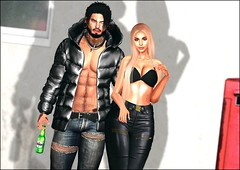 ♥Anton et yas♥ (๖̶̶̶ۣۣۜۜ͜ζ͜͡ Ỵคیʍīήค♥) Tags: david nobody spirit osmus yasmina black mila couple women doux men secondlife 3d blogger