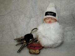 Schlüsselbund (ingrid eulenfan) Tags: schlüsselbund keyring schlüssel schlüsselanhänger ding object objekt baby happycrazytuesday ingrideulenfan