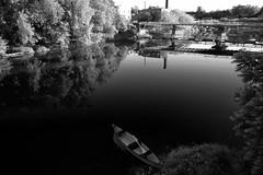 Elora, ON 05-2019 - 11 of 259 (leo_li's Photography) Tags: elora canada ontario 加拿大 安大略 安大略省 gorge reflection 倒影 river bw 黑白
