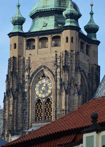 Praha, kostel sv. Víta, věž