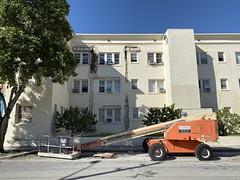 Restoration Old Apartment Building Little Havana (Phillip Pessar) Tags: restoration old apartment building little havana