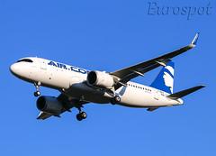 F-WWIP Airbus A320 Neo Air Corsica (@Eurospot) Tags: toulouse blagnac fwwip fhxkb airbus a320 neo 9348 aircorsica