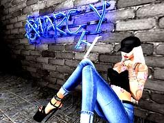 Anarchy (ivyisla.sl) Tags: secondlife slphotography sl secondlifephotography secondlifestyle slavatar slfashion avatar virtualworld virtualphotography virtualmodel virtualworlds anarchy