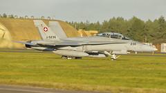 Swiss Air Force McDonnell Douglas F/A-18D J-5236 (Rob390029) Tags: swiss air force mcdonnell douglas fa18d j5236 raf leeming egxe