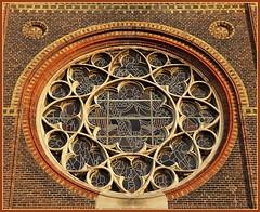 Window Saint Boniface church in Leeuwarden - Friesland (joeke pieters) Tags: 1510766 panasonicdmcfz150 bonifatiuskerk leeuwarden friesland nederland netherlands holland raam window hww