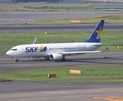 Skymark                                    Boeing 737                                 JA737Z (Flame1958) Tags: ja737z 3302 skymark skymarkairlines skymarkairways skymarkplane skymarkb737 haneda hanedaairport tokyohaneda tokyohanedaairport 1016 2016 japan 191016 201016